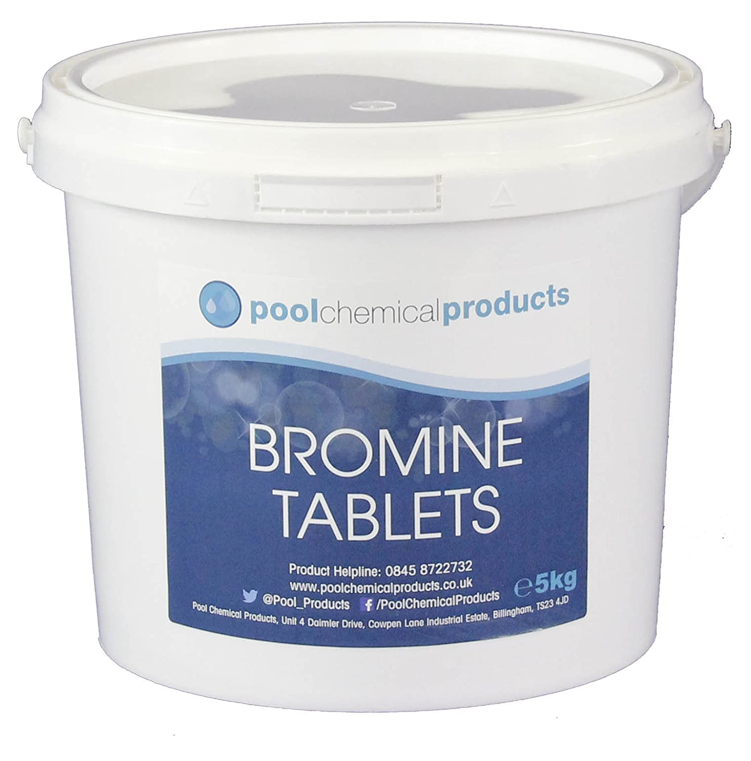 Bromine Tablets 5kg Swimming Pool Spa Hot Tub Pool Chemical Products