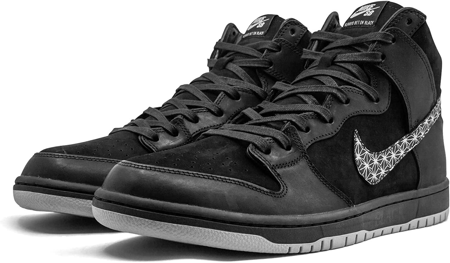 Destino lucha alquiler  Amazon.com | NIKE SB Zoom Dunk High Pro QS 'Black Bar' Size 10 | Fashion  Sneakers