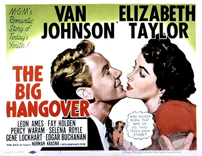 Amazon.com: Posterazzi The Big Hangover Van Johnson Elizabeth ...