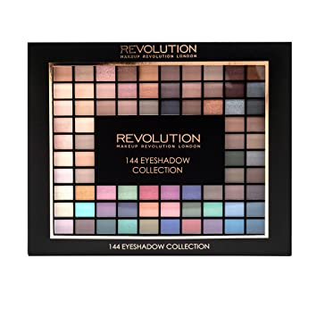 Buy Makeup Revolution London 144 Eyeshadow Palette 2016 Collection Online at Low Prices in India - Amazon.in