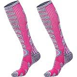 XIKUN Women Ski Socks Warm Skiing Snowboarding Socks Knee High Performance Winter Outdoor Sport Socks