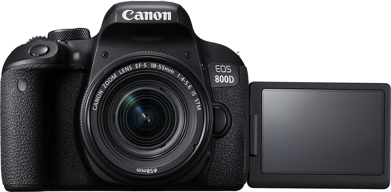 Canon EOS 800D/Rebel T7i Cámara réflex Digital con Lente IS STM 18 ...