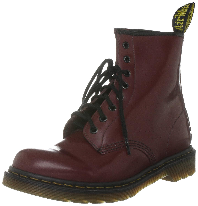 Dr. Martens 1460 Originals Eight-Eye Lace-Up Boot B077Z1BT71 3 UK|Red