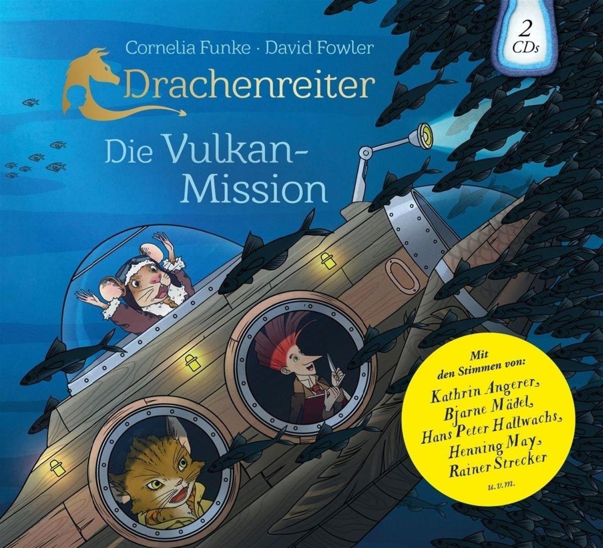 Drachenreiter Die Vulkan Mission Hörbuch
