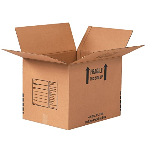 Pack of 10 24 x 18 x 18 Tape Logic TL241818 Corrugated Boxes Kraft
