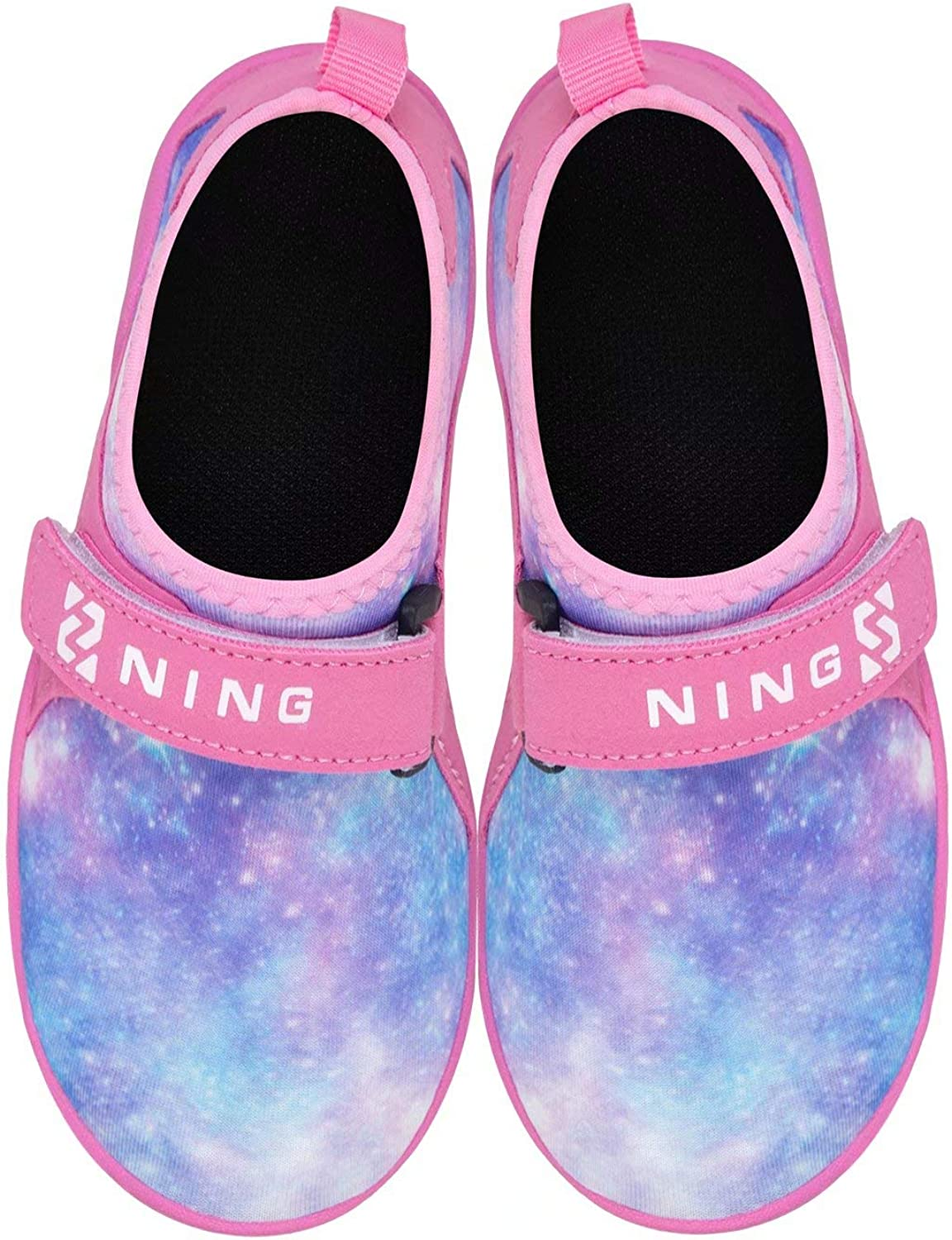 Torotto Kids-Water-Shoes-Toddler-Swim-Shoes-Pool-Shoes Lightweight-Sport-Shoes Barefoot Non-Slip Aqua-Socks Athletic-Sneakers for Girls Boys