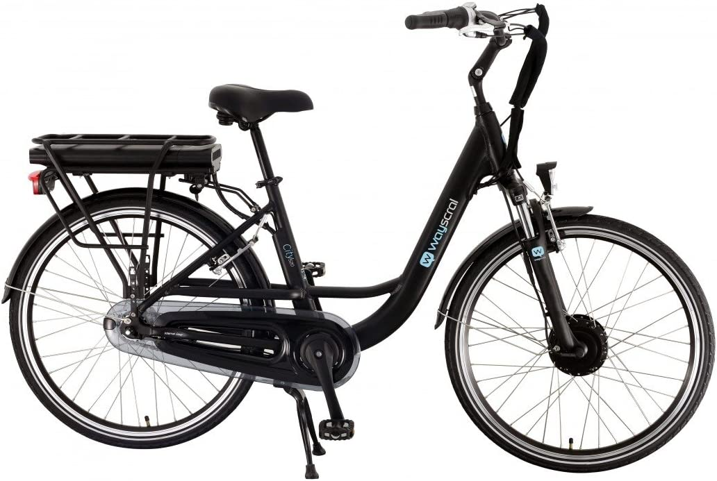 Wayscral City 520 Bicicleta eléctrica (36 V), negro: Amazon.es ...