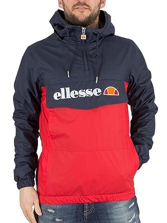 renommée mondiale expédition gratuite dernière sélection Ellesse Homme Mont Brava Logo Jacket, Bleu, Small: Amazon.fr ...