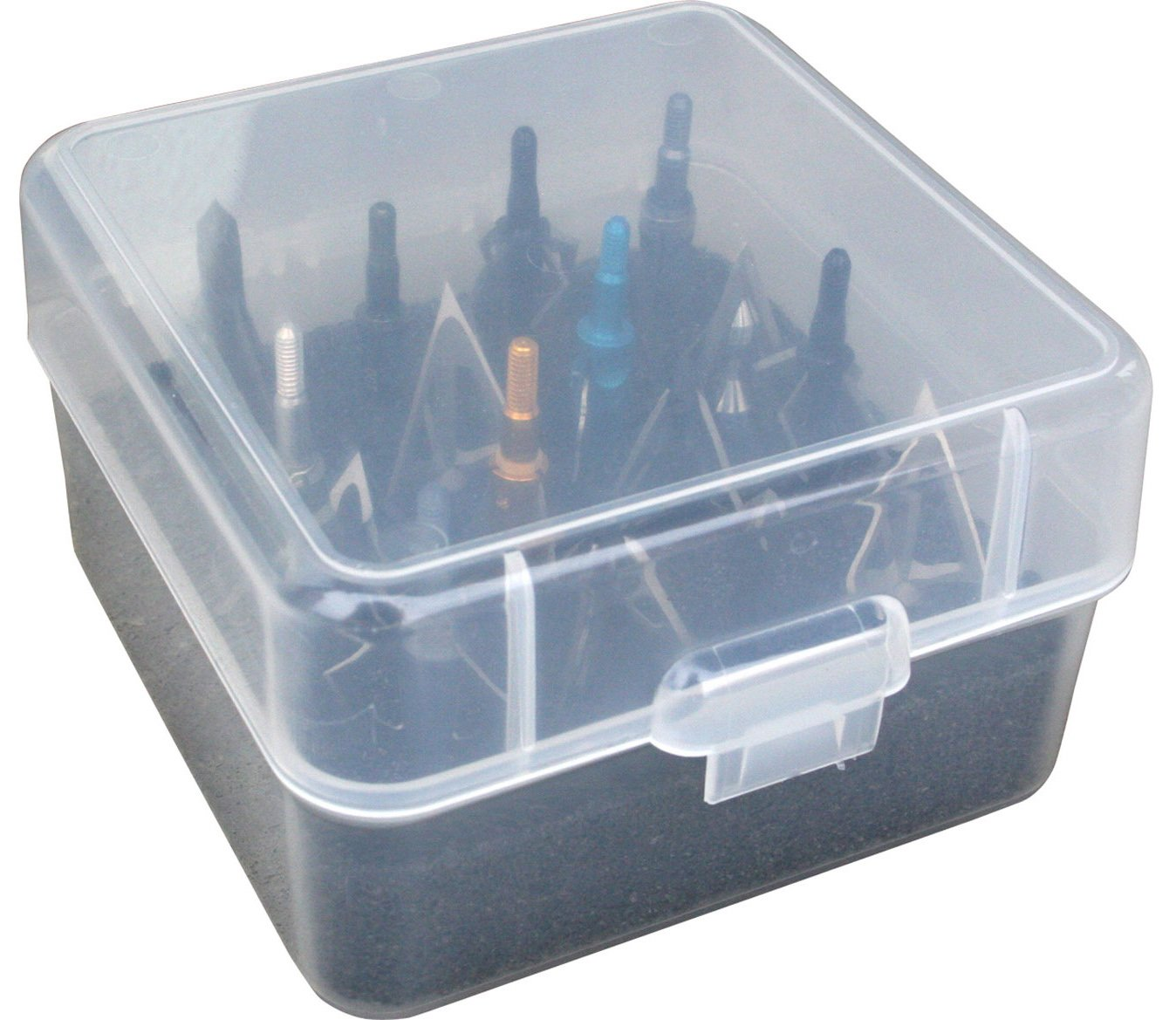 MTM Broadhead Box Clear by