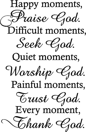 Amazoncom Epic Designs Happy Momentspraise God Difficult Moments