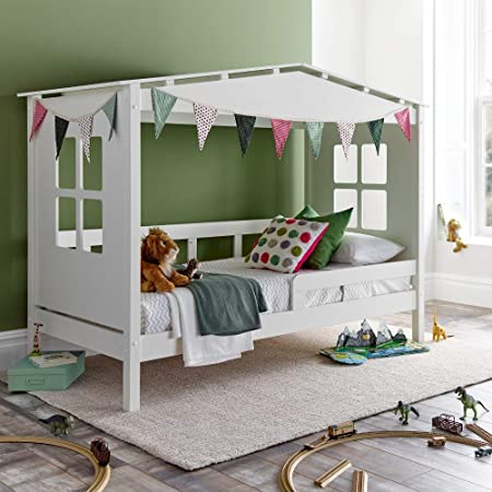 cheap for discount 3655a 5840d Treehouse Kids Bed, Happy Beds Mento White Childrens Bed ...