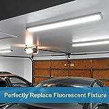 4ft 4000 Lumens Linkable LED Shop Lights for