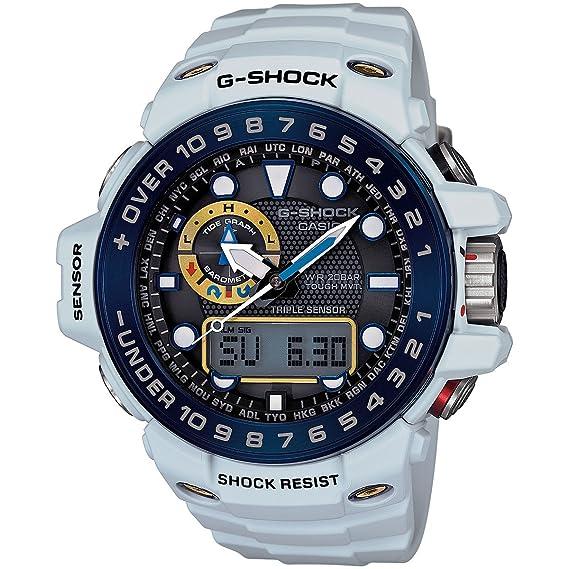 G-Shock - Reloj de hombre gwn-1000e blanco reloj: Casio: Amazon.es: Relojes