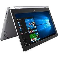 """GHIA Laptop 2 en 1 Shift 2 - Pantalla de 11.6"""" - Touch - Intel Atom x5-Z8350-4GB de Memoria RAM - 64GB de Almacenamiento - Windows 10 Home"""