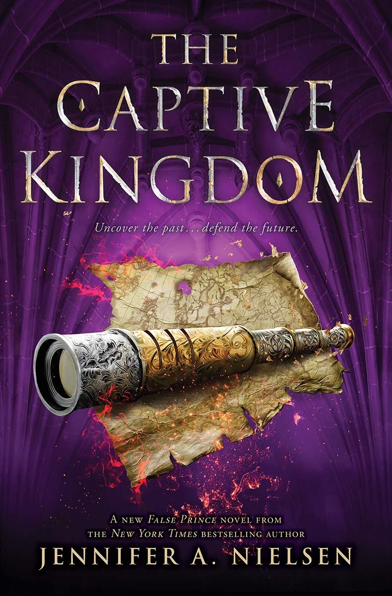 The Captive Kingdom (The Ascendance Series, Book 4) (4)