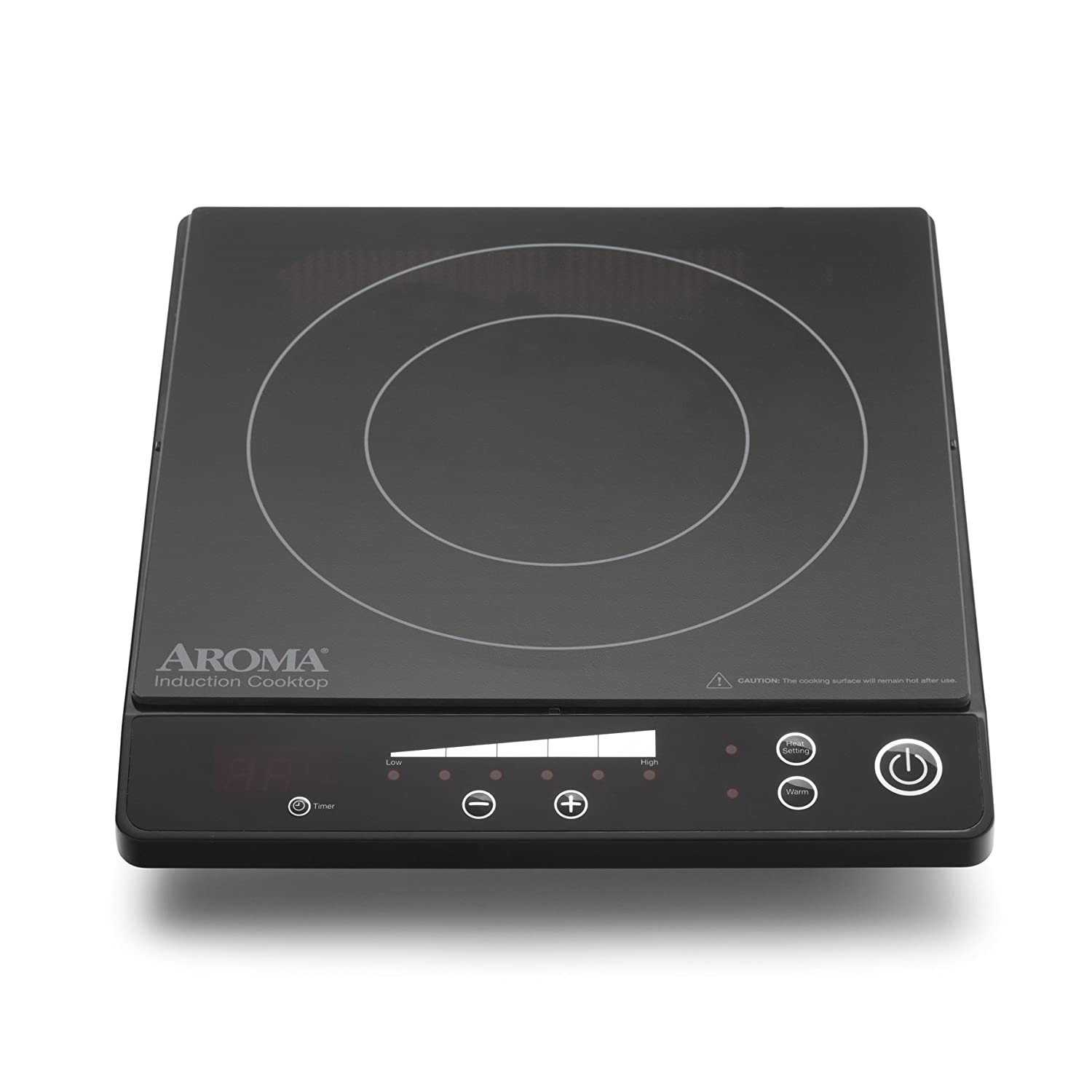 amazoncom aroma housewares aid509 induction cooktop electric countertop burners kitchen u0026 dining