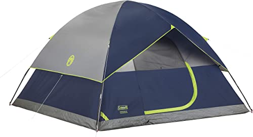 This photo shows the Coleman Sundome Tent.