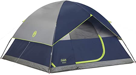 Coleman Sundome Dome Tent (2/3/4/6 Person)
