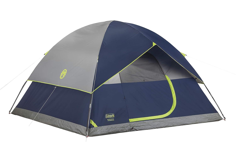 科尔曼Sundome帐篷