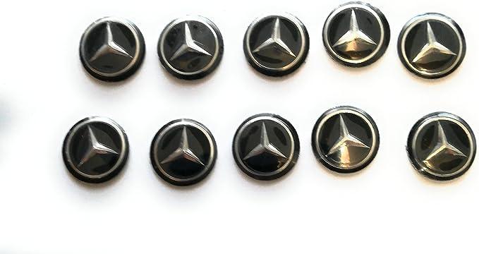 Schlüssellogo Funkfernbedieung Mercedes 14mm