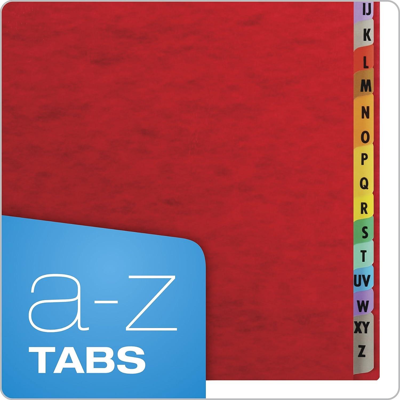 1 each Pendaflex Desk File and Sorter A-Z Index Red