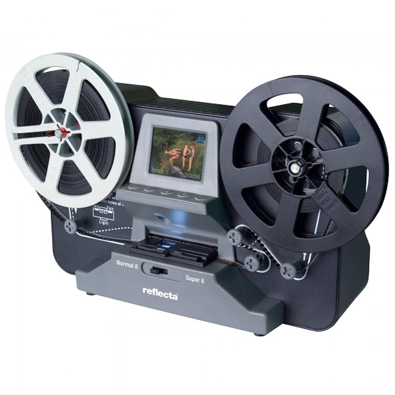 GUTSCHEIN FÜ R: SUPER 8 - NORMAL 8 Scanner MIETEN 1 Woche, Reflecta Filmscanner, Super 8 Filme und Normal 8 Filme digitalisieren (max. Spulendurchmesser 12,7 cm), Auflö sung: 1440x1080 p Scanexperte