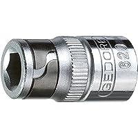 GEDORE 620 Bit-adapter, Silver, 1/4 tum skt - 1/4 tum vkt