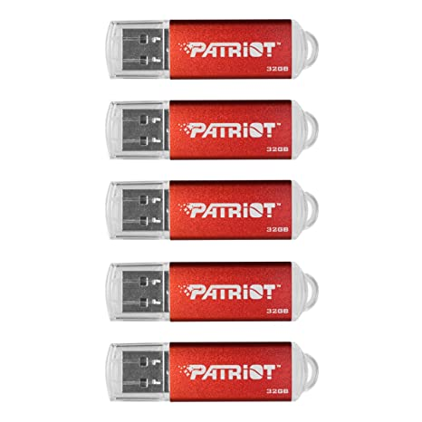 USB 2.0 Patriot Xporter XT 8GB Flash Drive LOT OF 4!!