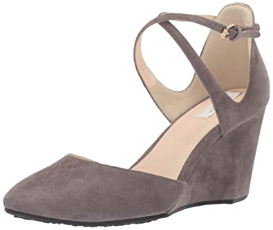 1b2ad66c9c Amazon.com | Cole Haan Women's Lacey Wedge Ankle Strap 75mm Pump ...