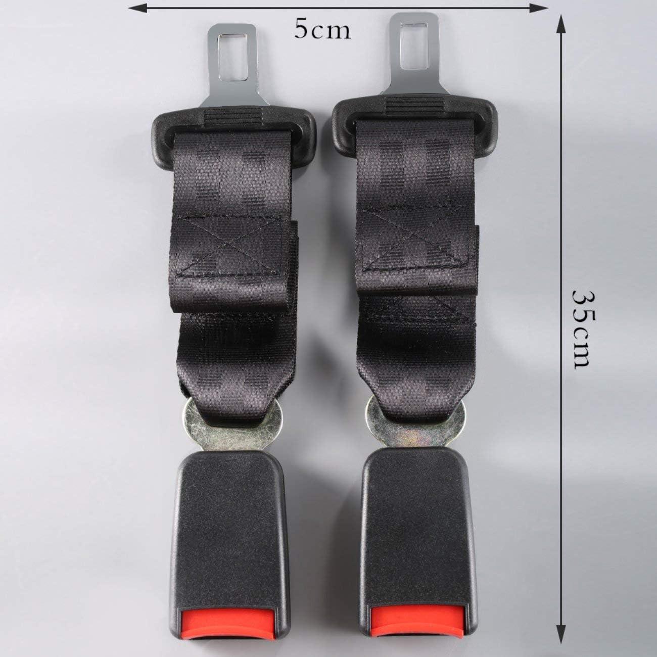 "Fits 2005-2009 GMC Envoy 12/"" Rigid Seatbelt Extension Front Extender"
