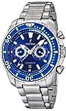 Festina Sport Analog Quarz Chrono Herren Uhr Blau F16564/3
