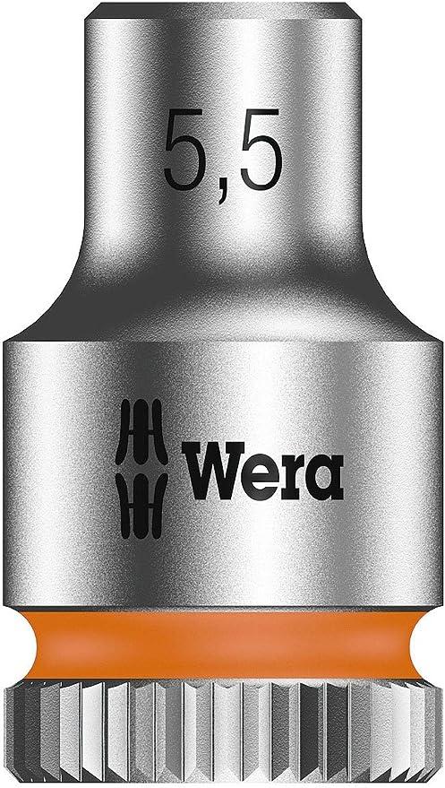 Wera 05003504001 8790 Hma Zyklop 1//4 Socket 5.5 mm