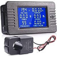 MICTUNING Pantalla LCD Multímetro Digital de CA Voltímetro