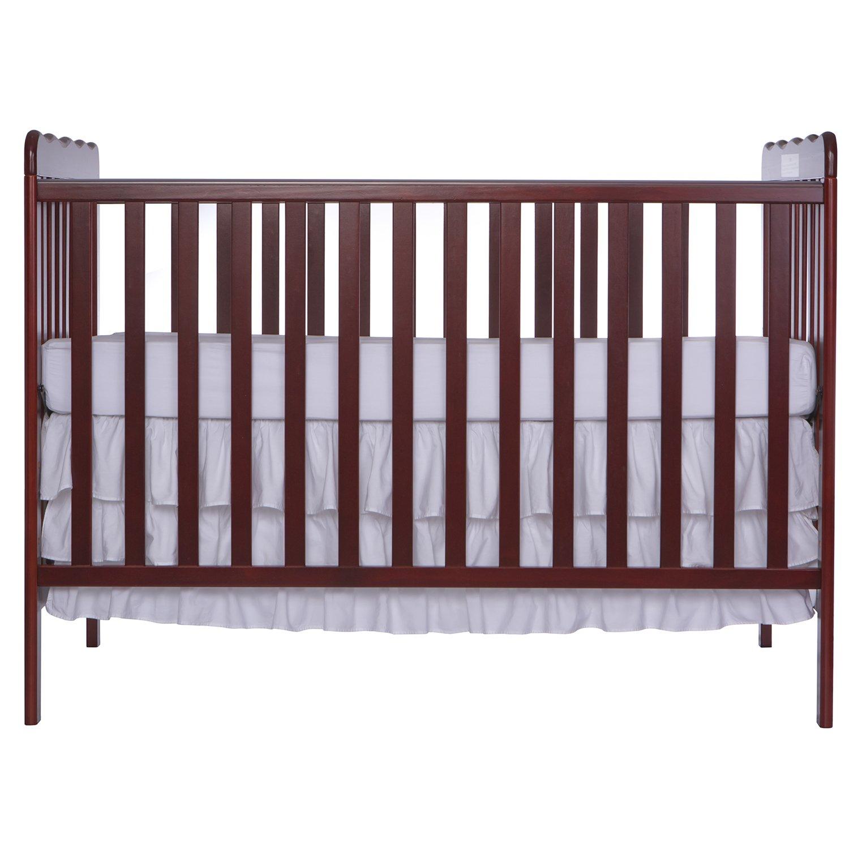 Amazon.com : Dream On Me, Classic 3 In 1 Convertible Crib, Cherry : Baby