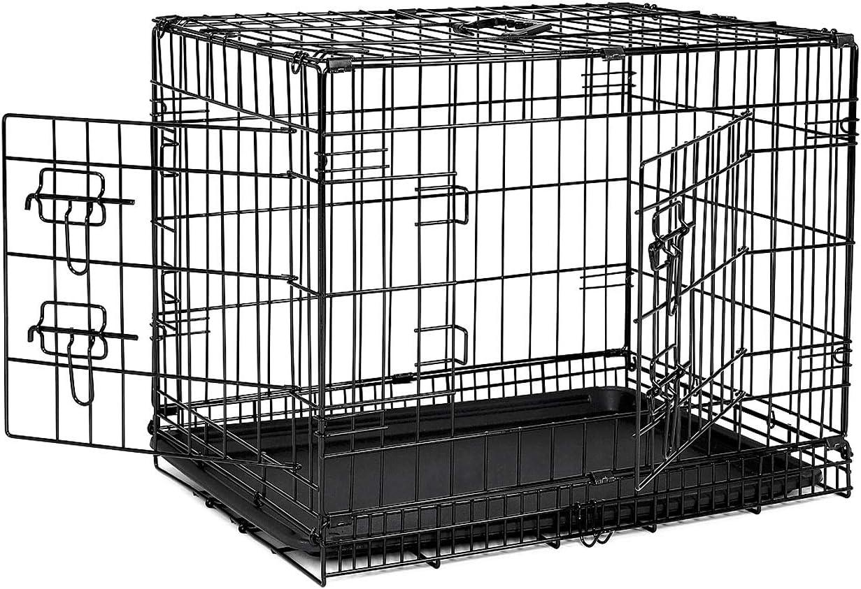 Der Hundekäfig ist perfekt als Hundebox für Zuhause geeignet