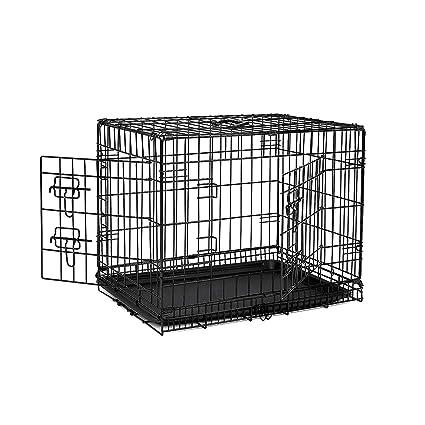 Dibea dc00490, Jaula de Transporte para Perros y Animales pequeños, Estable Caja de Alambre