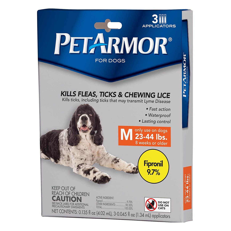 petarmor para perros 3pk mediana 23 - 44lbs: Amazon.es: Productos para mascotas