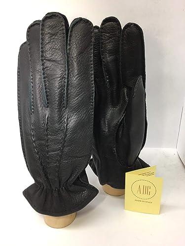 selezione premium una grande varietà di modelli più nuovo di vendita caldo Guanti in vera pelle garantita di cervo Uomo ZGK-4126 ...