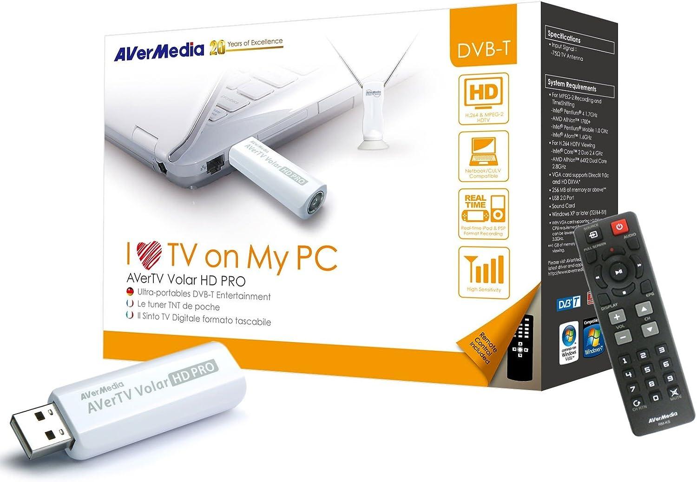 AVerMedia Volar HD Pro - Sintonizador de televisión Externo ...