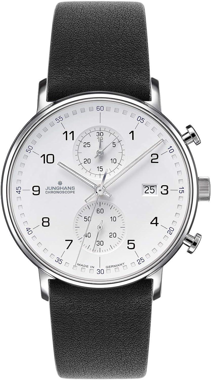 Junghans Reloj para Hombre 041/477-Schwarz
