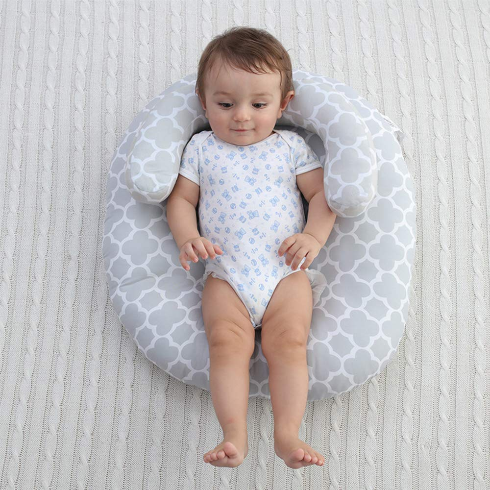 LOHOME Newborn Sleep Positioner Anti-Spitting Milk Pillow Portable Baby Sleeping Pad Cushion Mattress for Toddlers by LOHOME (Image #2)