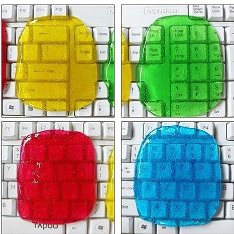 Dealglad® Limpiador Gel mágico universal para teclado de ordenador antipolvo