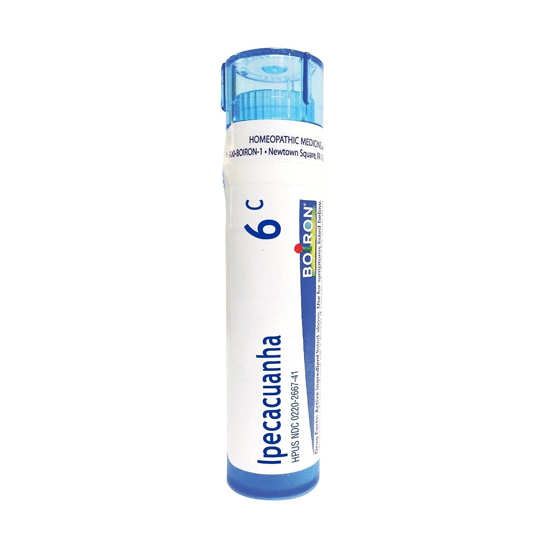 Boiron Ipecacuanha 6C, 80 Pellets, Homeopathic Medicine for Nausea