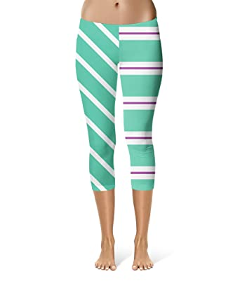 6fc5651213cc4 Image Unavailable. Image not available for. Color: Queen of Cases Vanellope  von Schweetz Inspired Sport Leggings - Capri Length ...