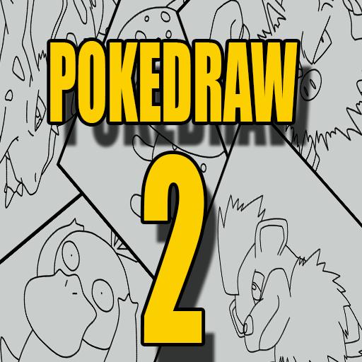 how to draw a poke - 9