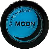 Moon Glow - Blacklight Neon Eye Shadow 0.12oz Blue – Glows brightly under Blacklights/UV Lighting!