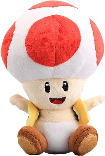 Amazon Com Uiuoutoy Super Mario Bros Red Toad Plush 7 Toys