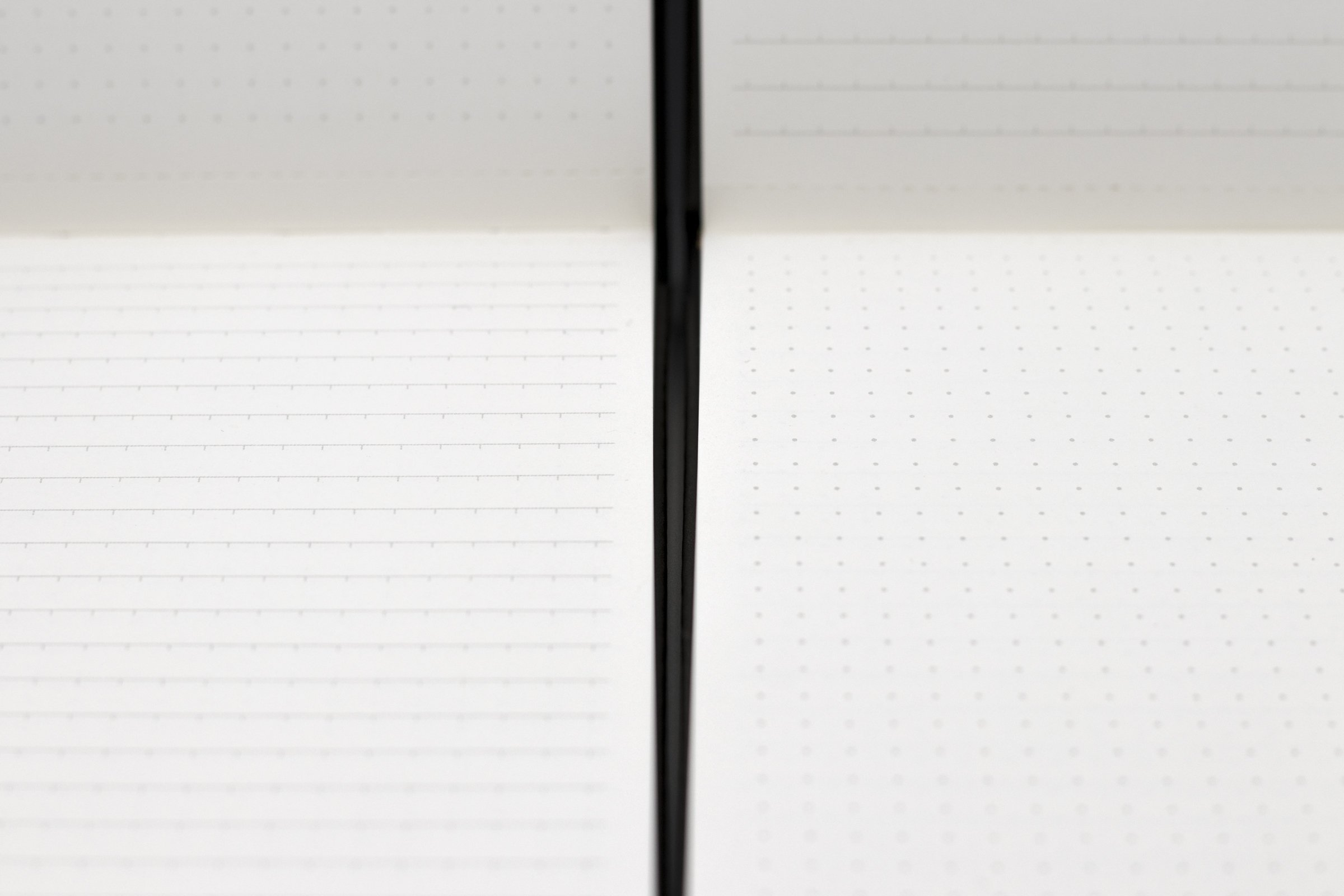 code&quill Compass Notebook Premium Reporter Style Notebook (4.1'' x 7.7'') (Layout: Indentation Rule (Front Pages), Dot Grid (Back Pages)) (Gray) by Code&Quill (Image #4)