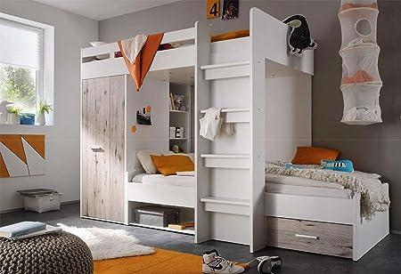 Etagenbett Für Kinderzimmer : Lifestyle4living hochbett jugendzimmer kinderzimmer