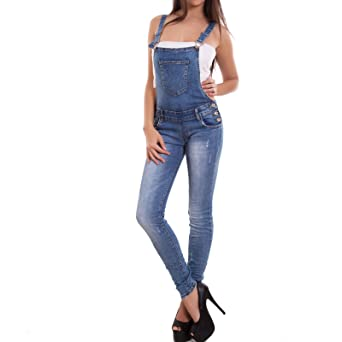 Toocool - Peto - para Mujer Azul Jeans X-Large: Amazon.es ...